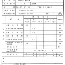 太田和地区配水管布設工事(1)